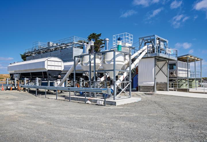 New Concrete Batching Plant Takes Off