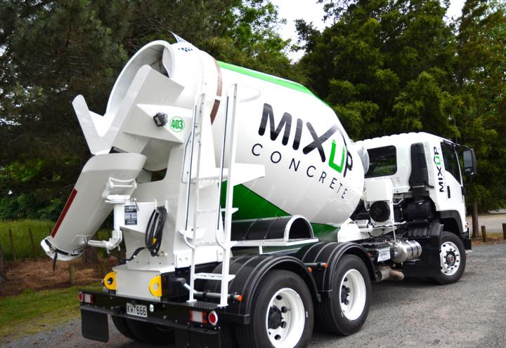 New DYNAMIX for Mix Up Concrete