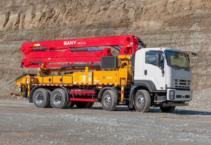 SANY Truck-Mounted Concrete Pump